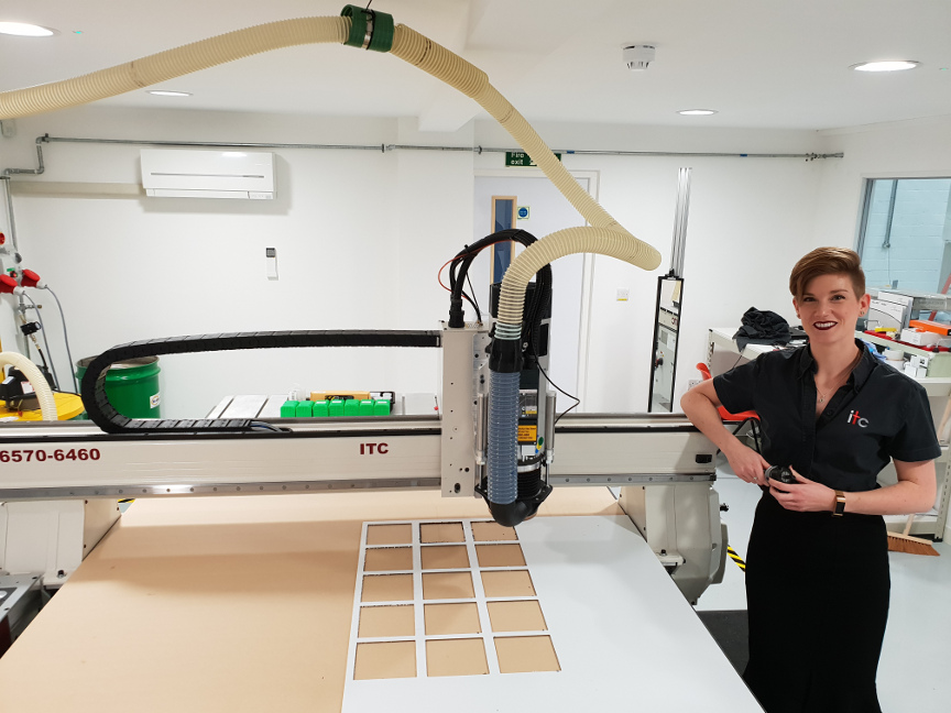 ITC Invests in New AXYZ Routing Machine